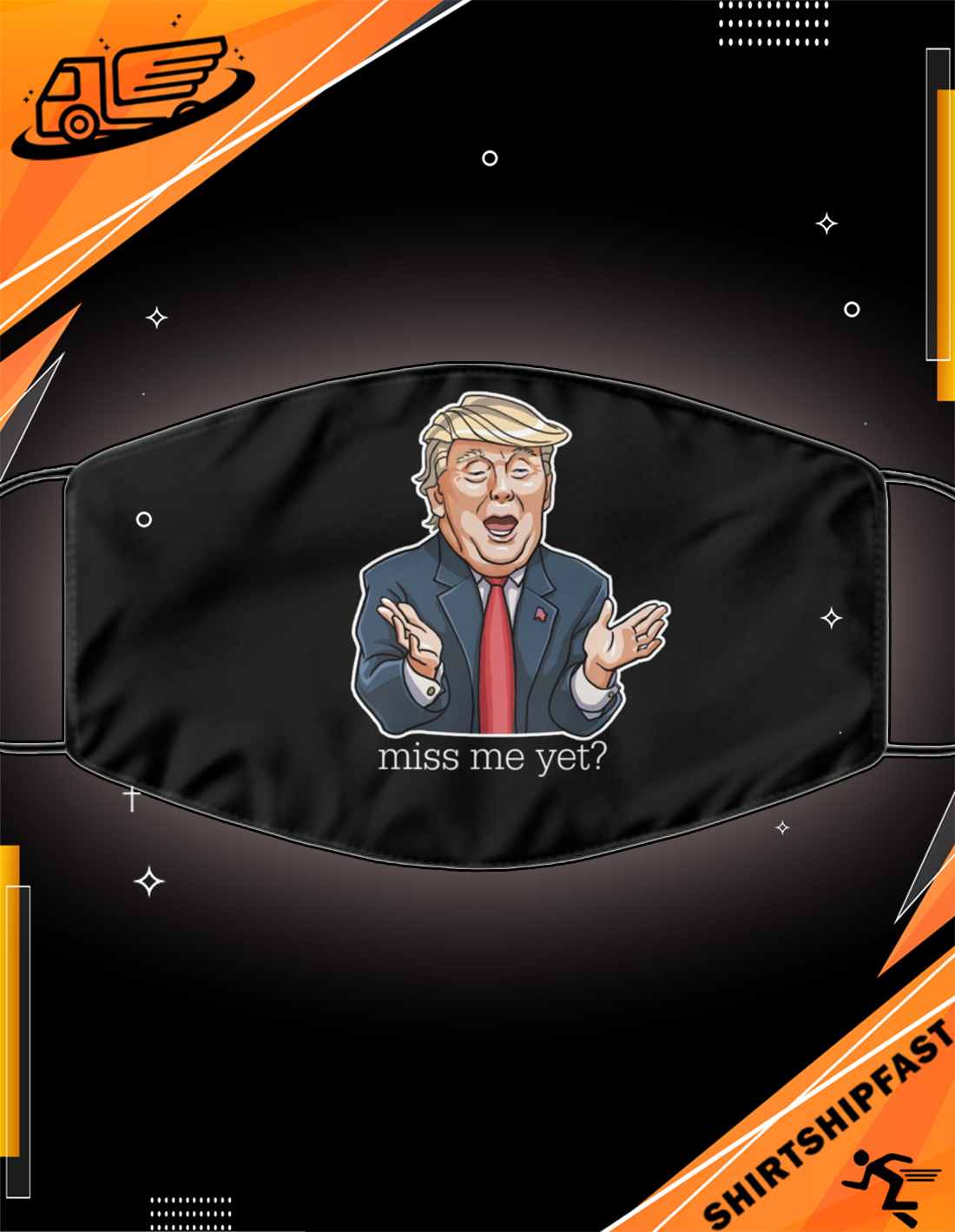 Trump miss me yet mask - Picture 3