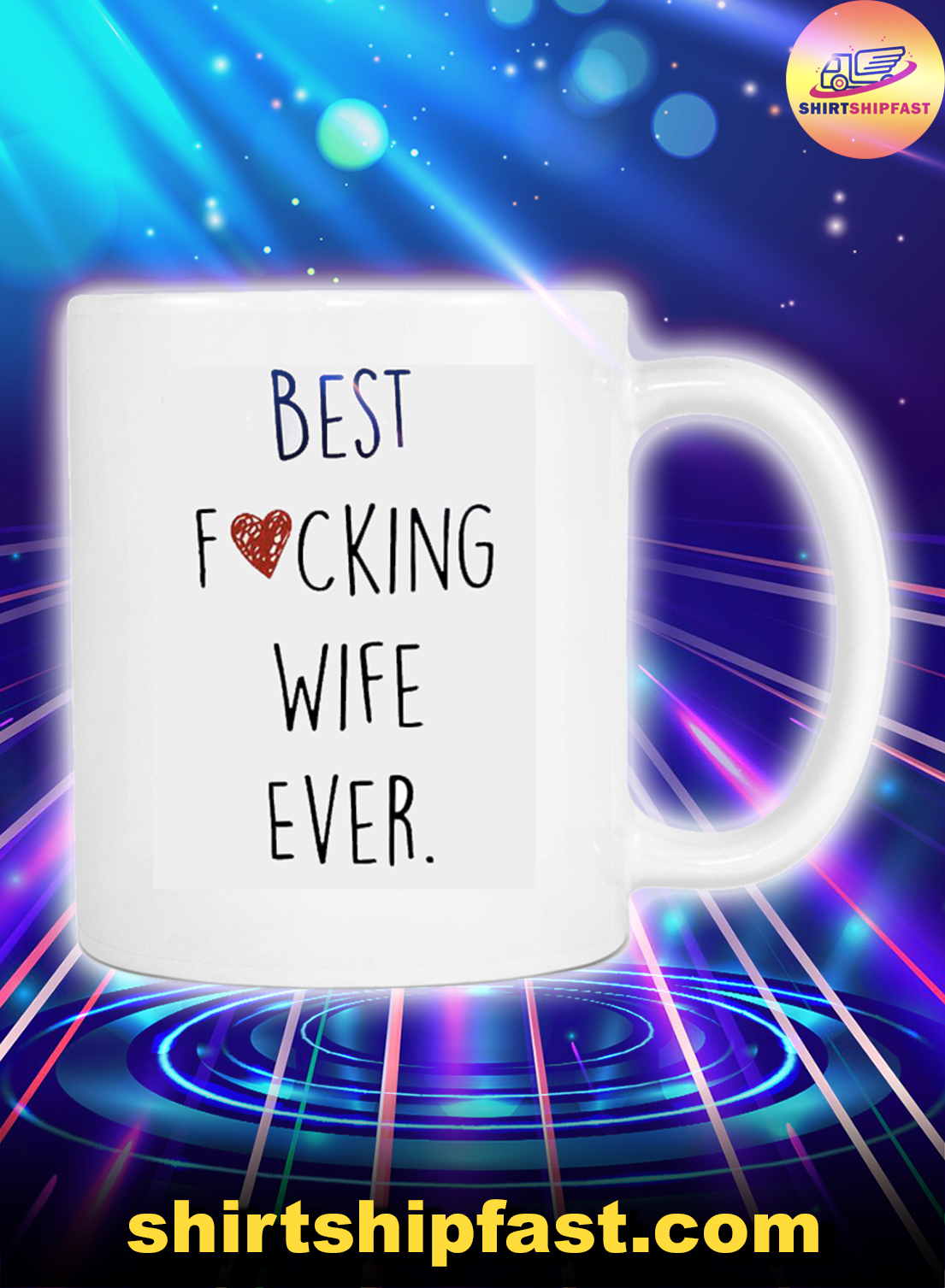 Best fucking wife ever mug - Picture 1