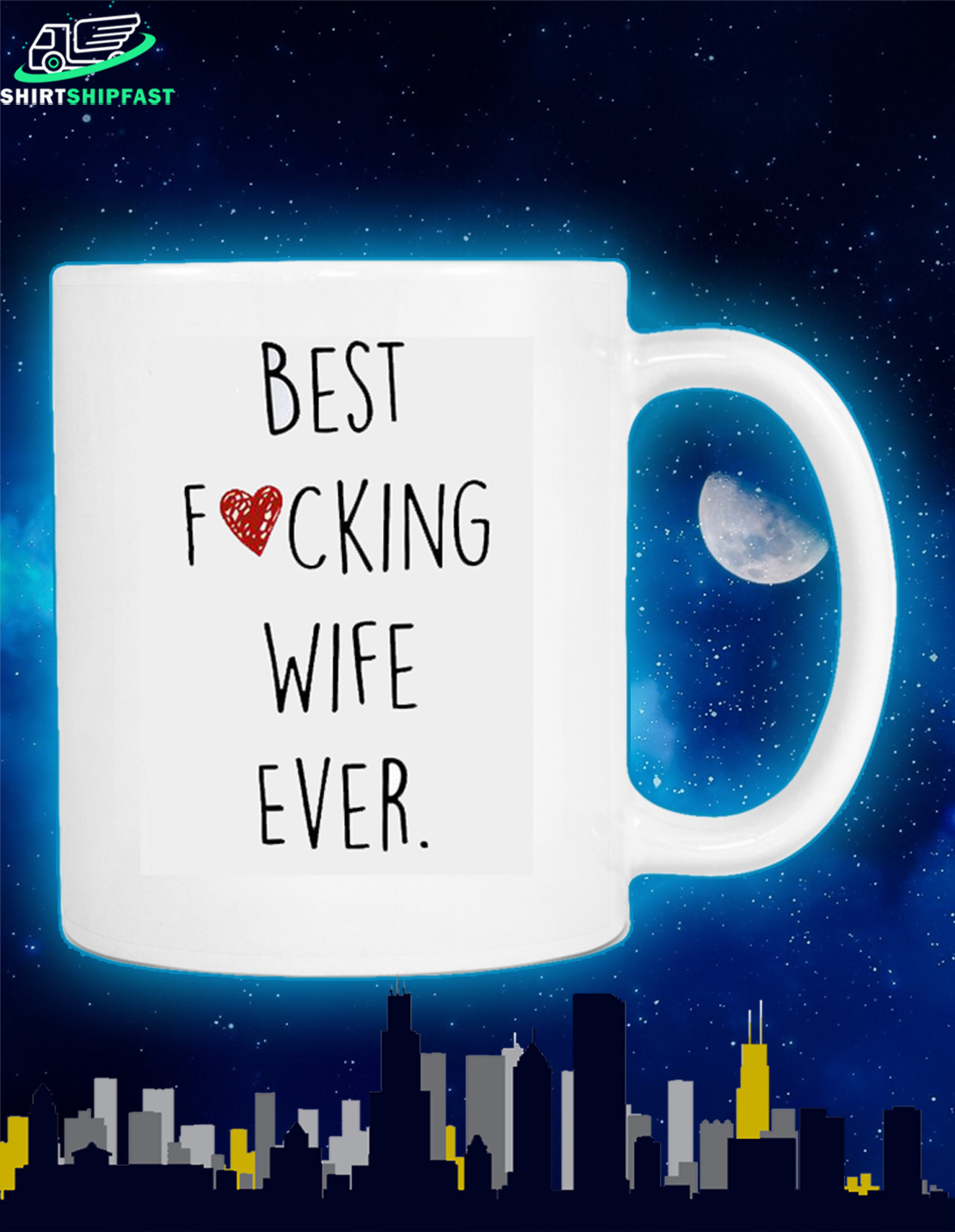 Best fucking wife ever mug - Picture 2