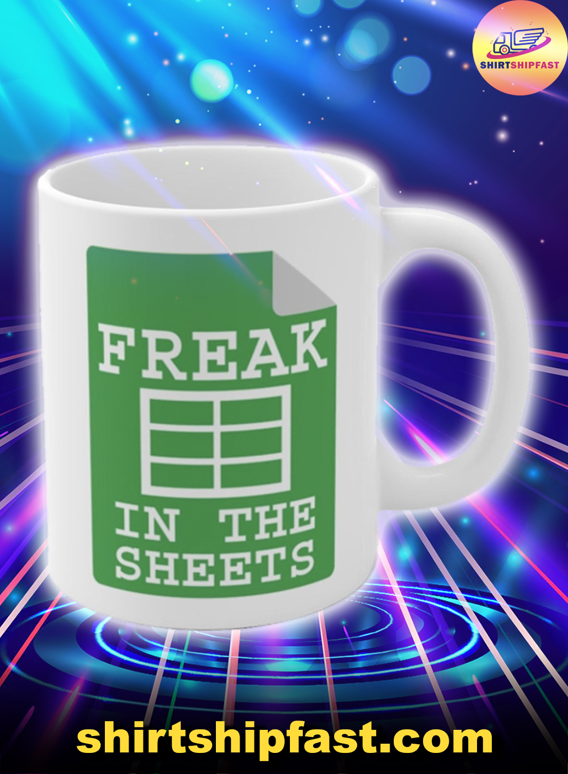 Freak in the sheets mug - Picture 1
