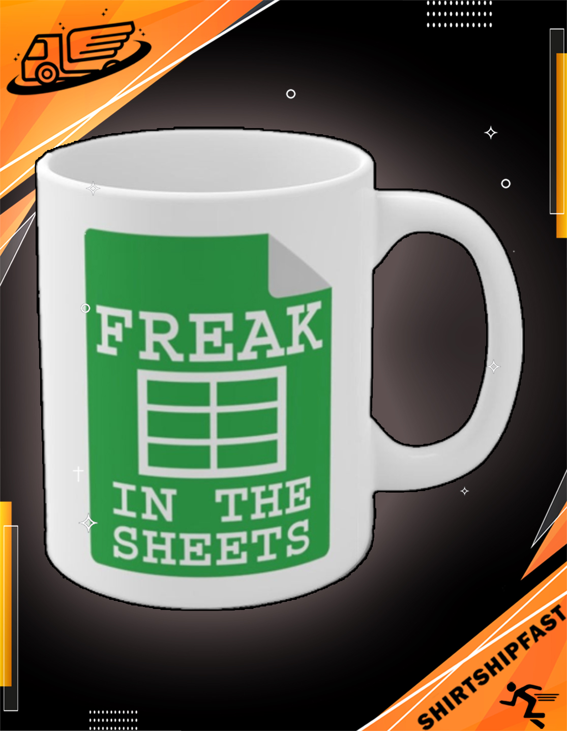 Freak in the sheets mug - Picture 3