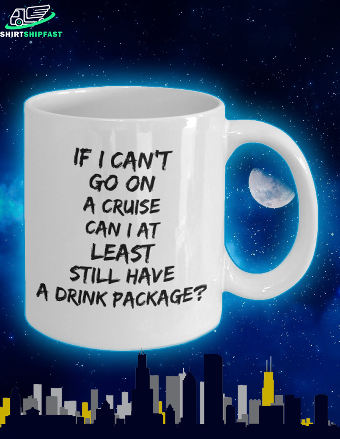 If I can't go on a cruise can I at least still have a drink package mug - Picture 2