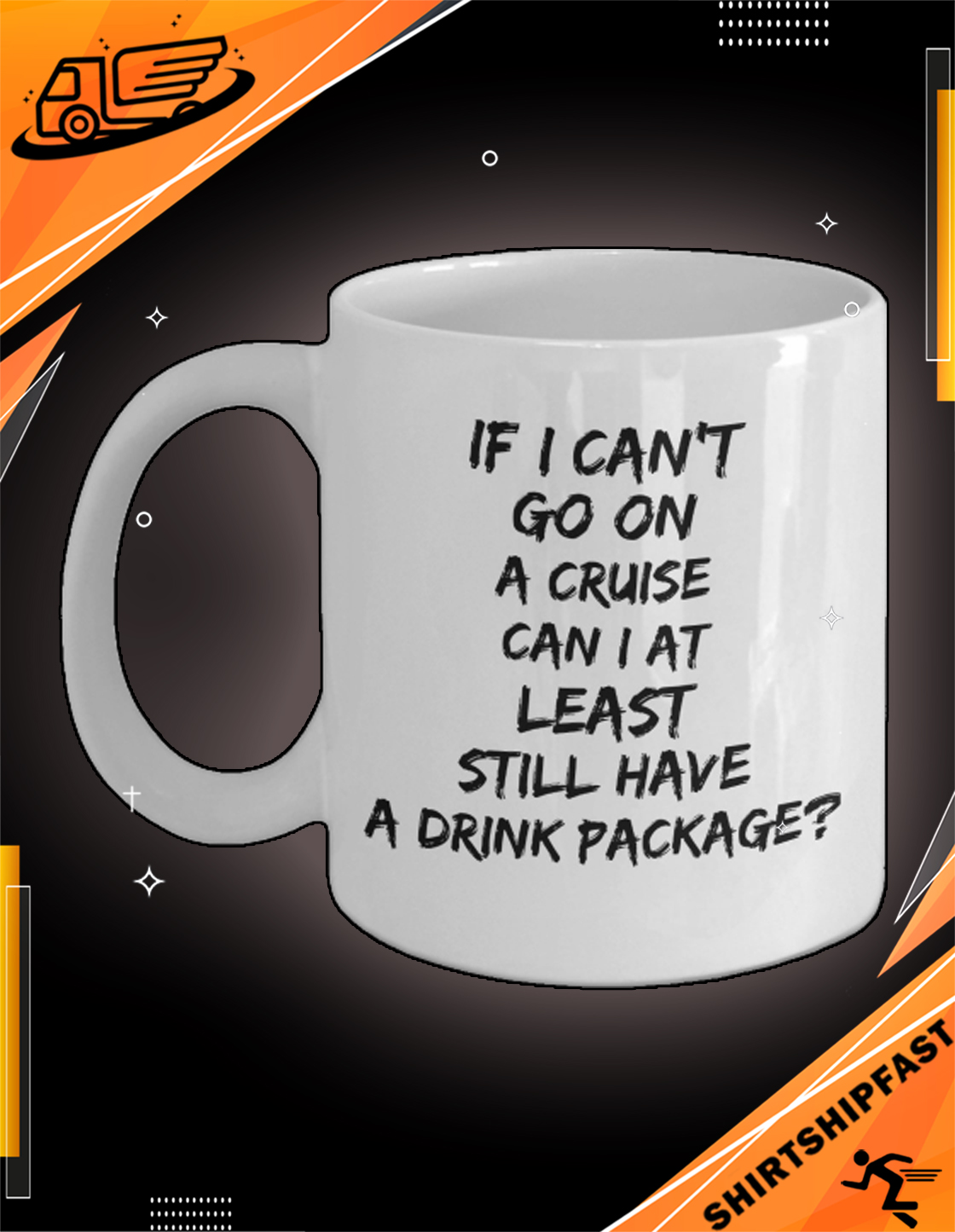 If I can't go on a cruise can I at least still have a drink package mug - Picture 3