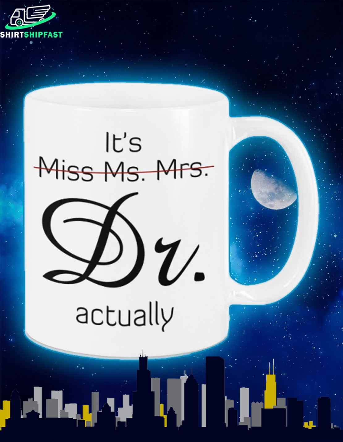 It's Miss Ms. Mrs. Dr. actually mug - Picture 2