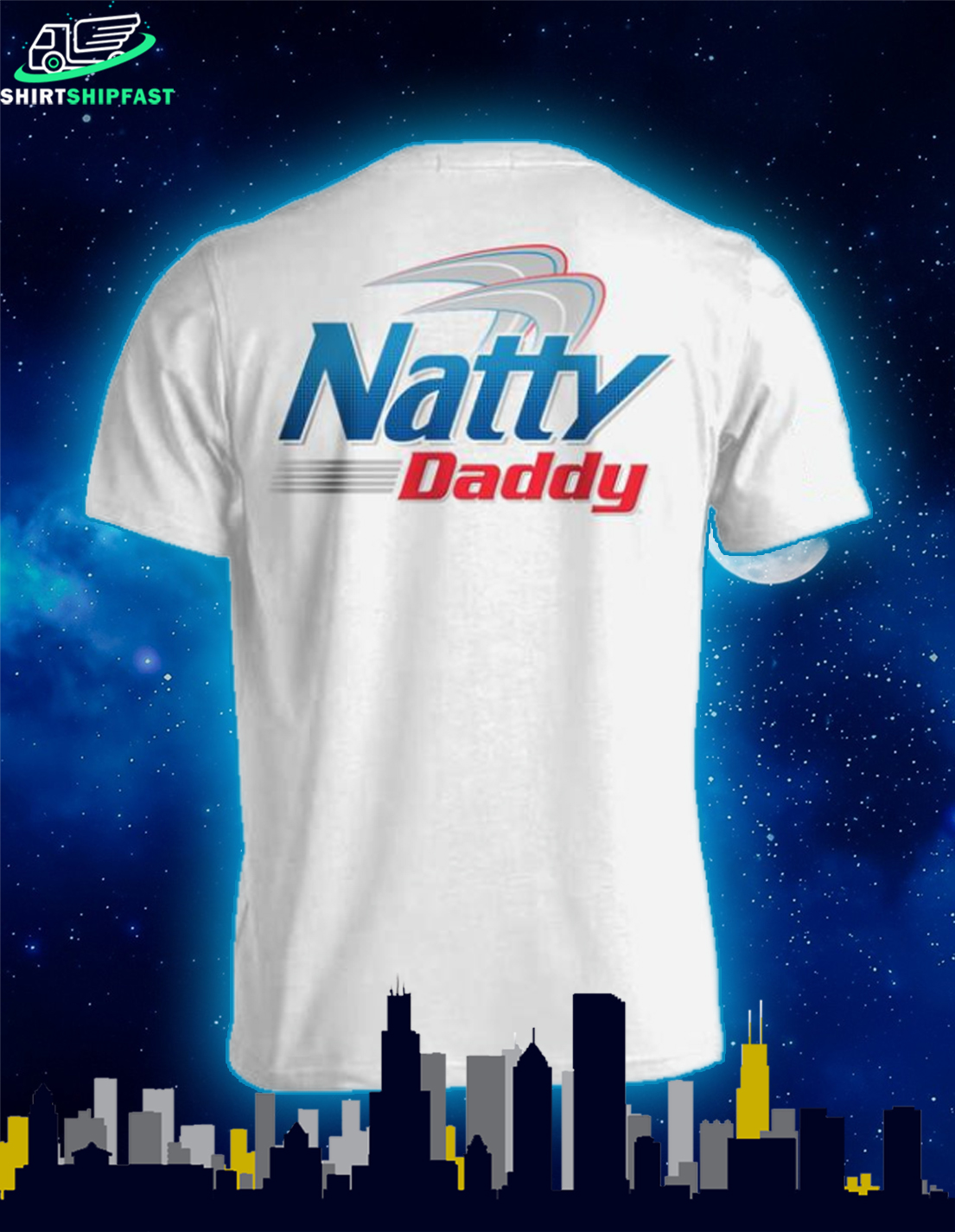 Natural light beer Natty daddy shirt - Picture 1