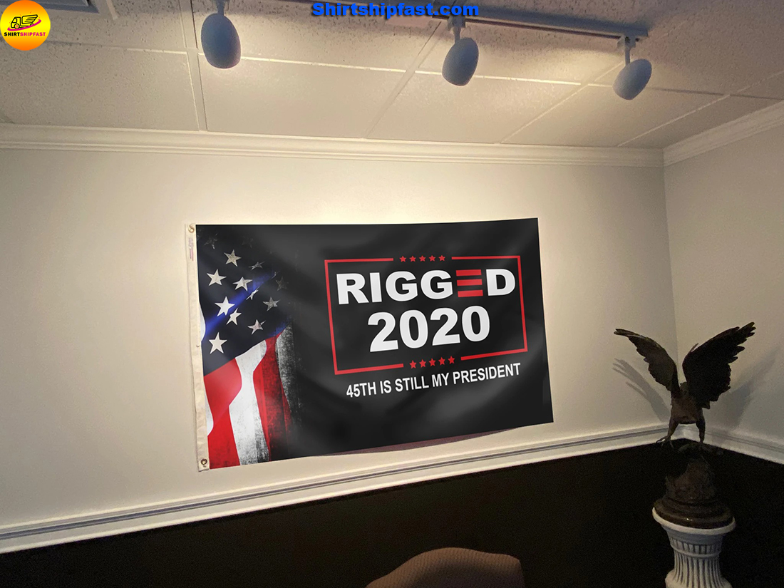 Rigged 2020 45th is still my president flag - Picture 2