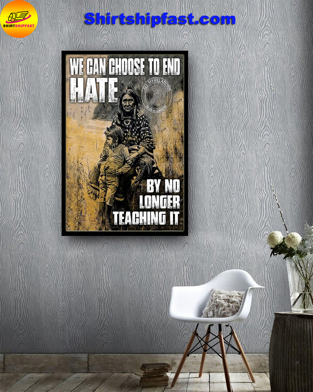 We can choose to end hate by no longer teaching it poster - Picture 2
