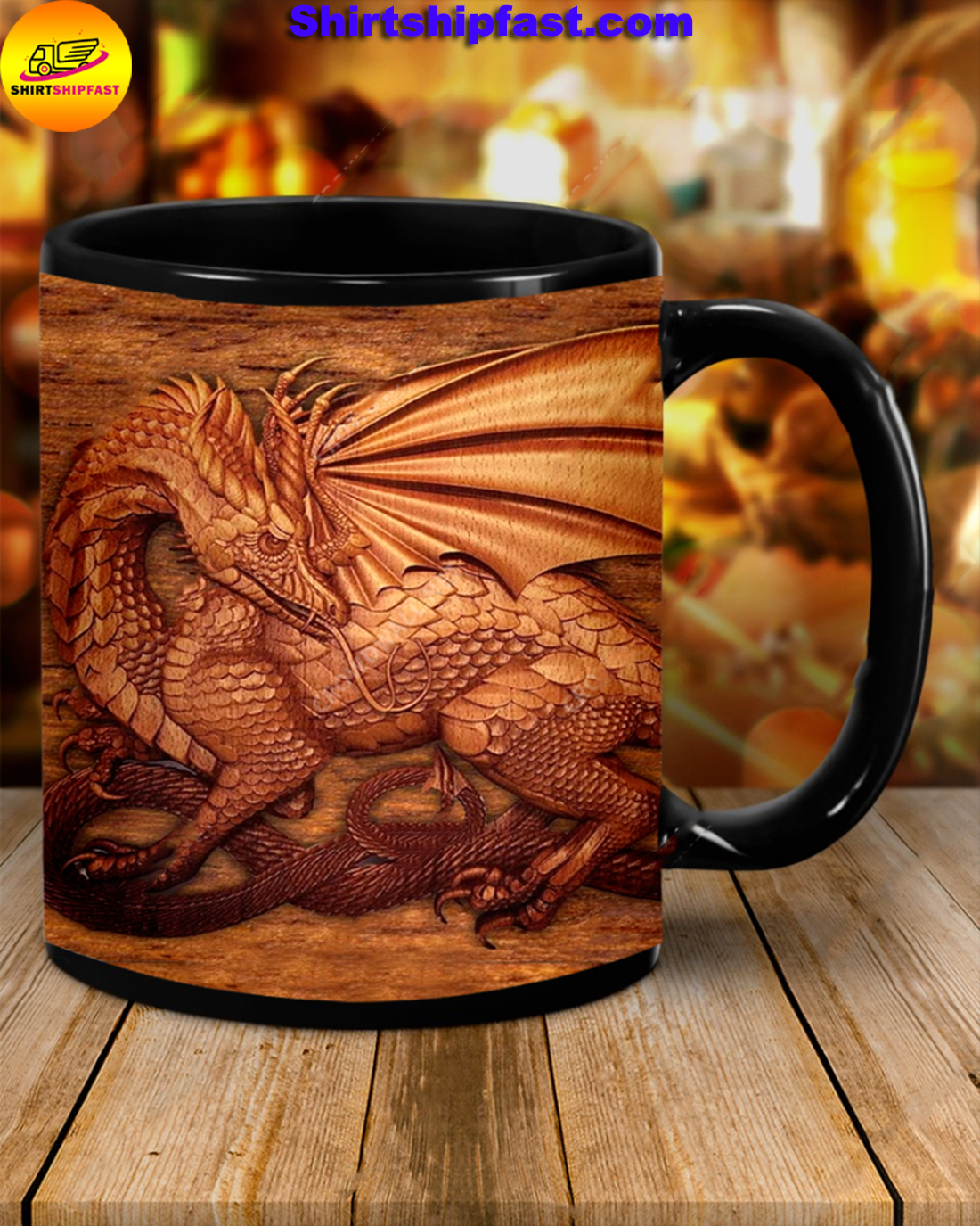 ou don't need the size of a dragon to have a soul of a dragon mug