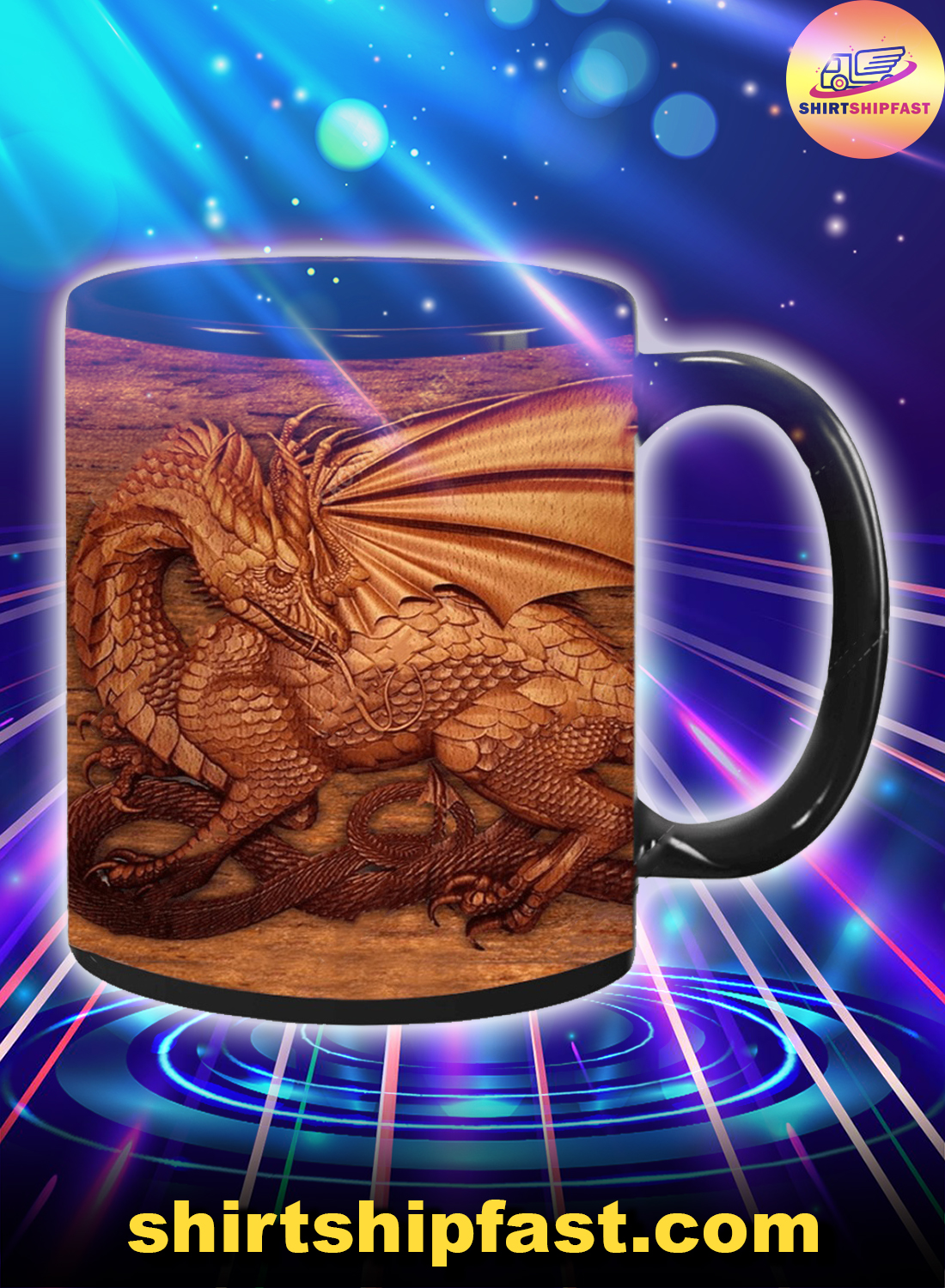 You don't need the size of a dragon to have a soul of a dragon mug - Picture 1