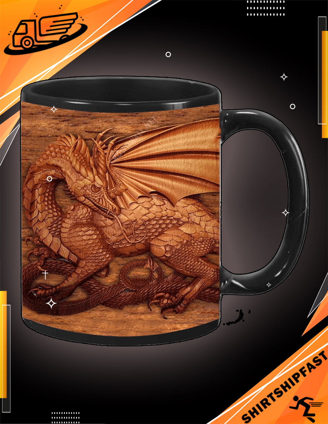You don't need the size of a dragon to have a soul of a dragon mug - Picture 3