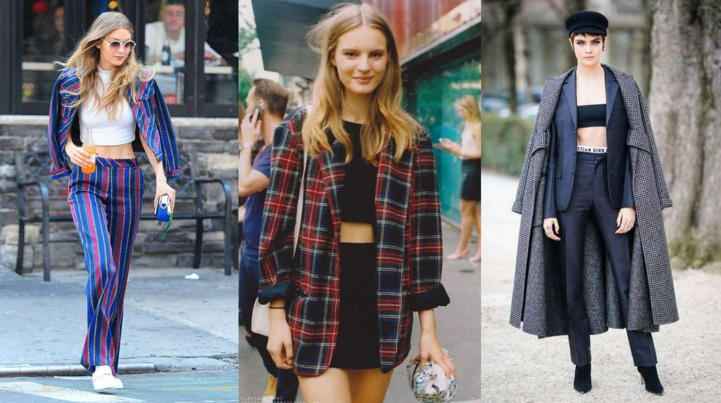How to wear a beautiful crop top autumn - winter