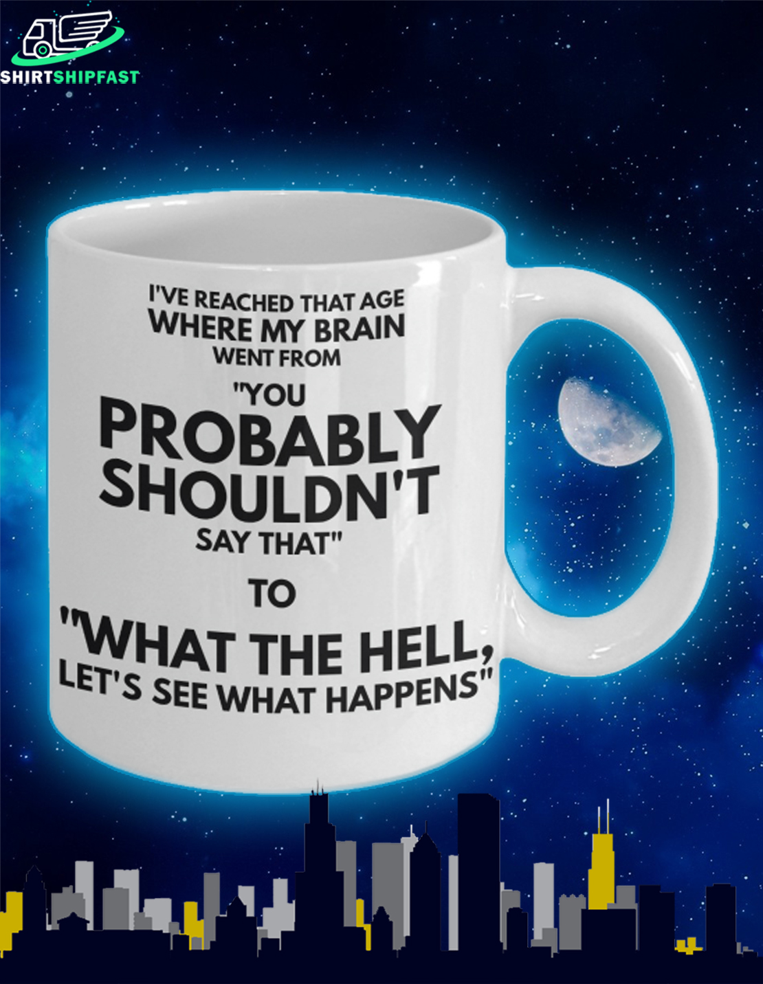I've reached that age where my brain when from mug - Picture 2