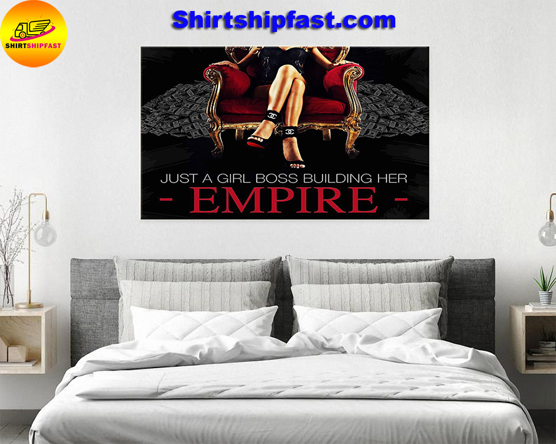 Just a girl boss building her empire poster - Picture 2