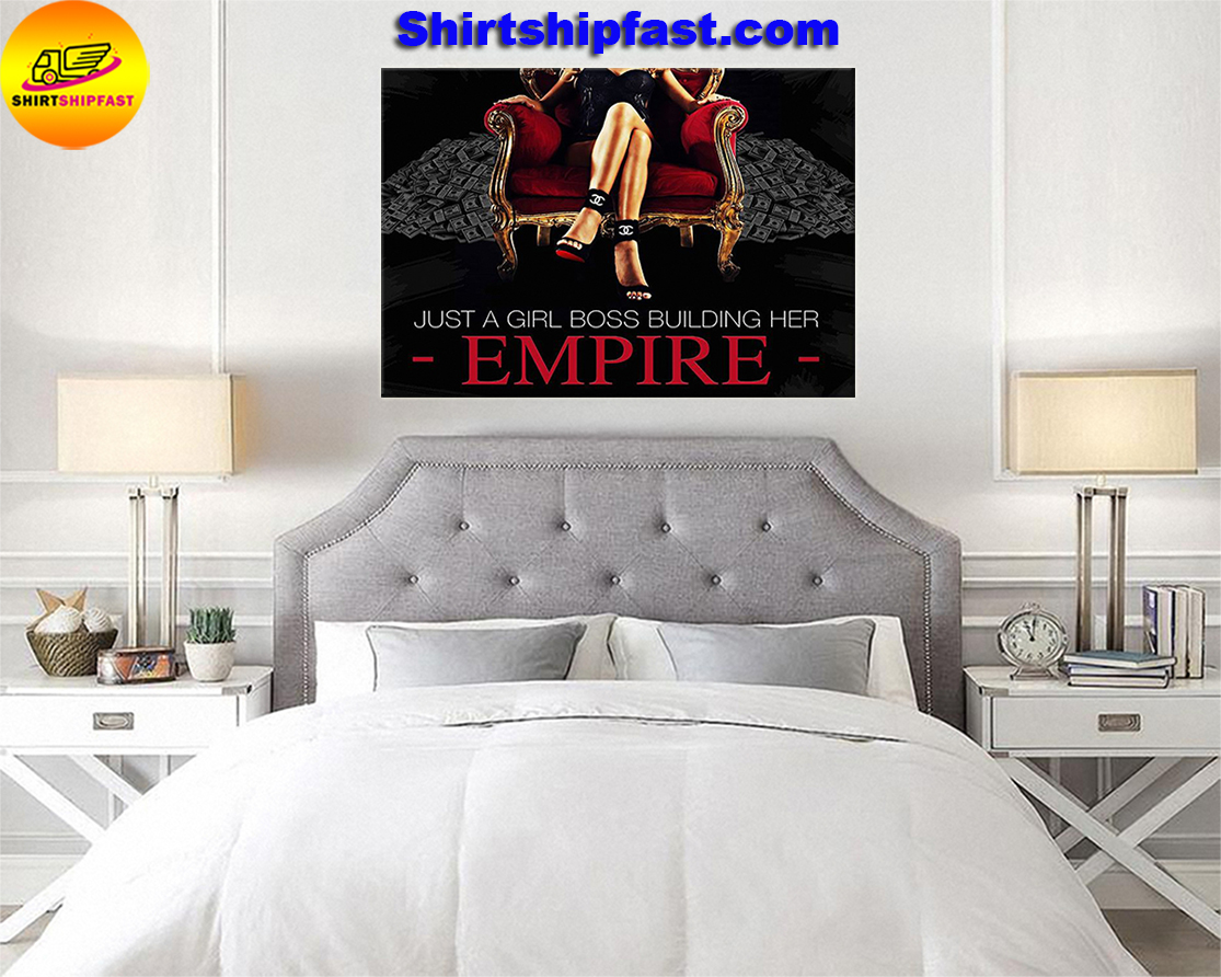Just a girl boss building her empire poster - Picture 3