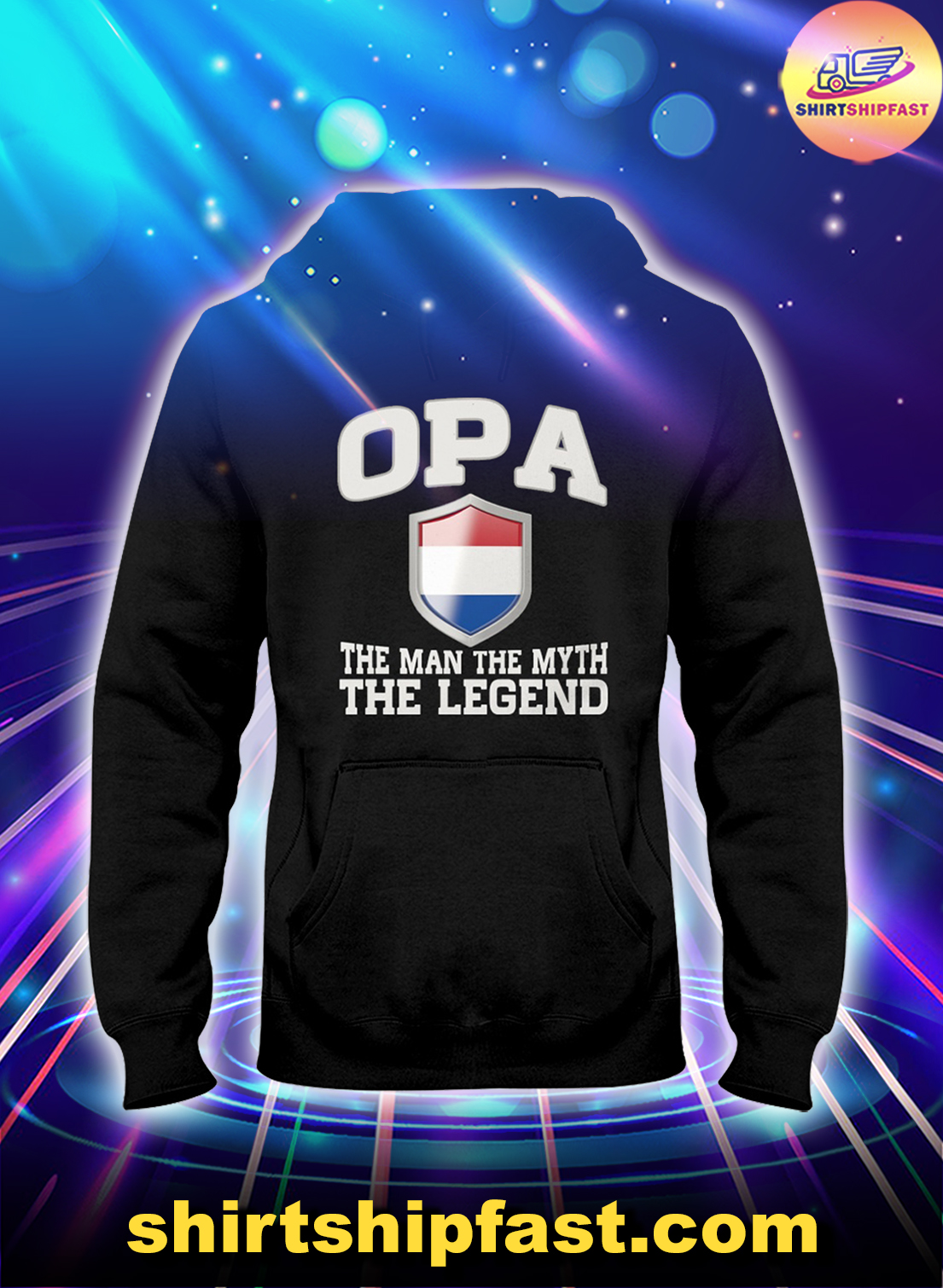 Opa the man the myth the legend hoodie