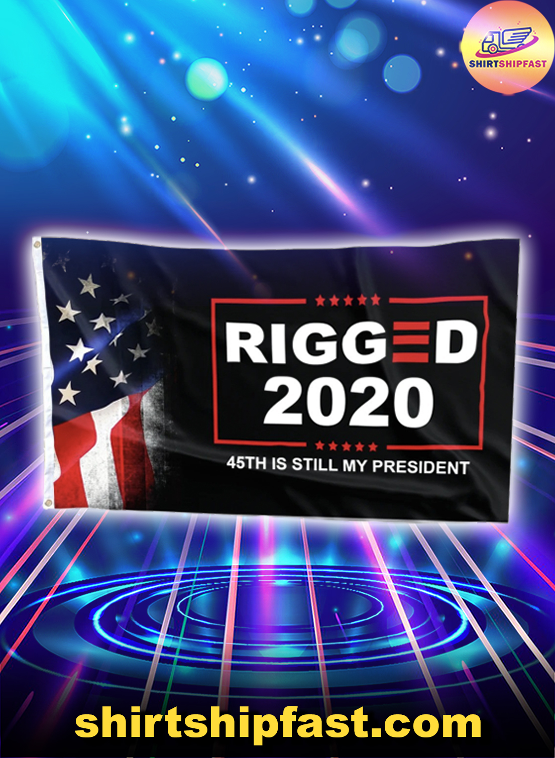 Rigged 2020 45th is still my President flag - Picture 1