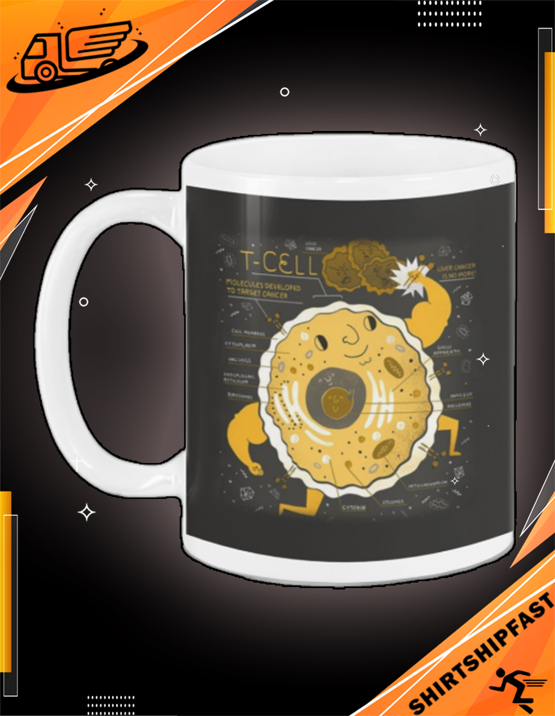 Science T-cell mug - Picture 3