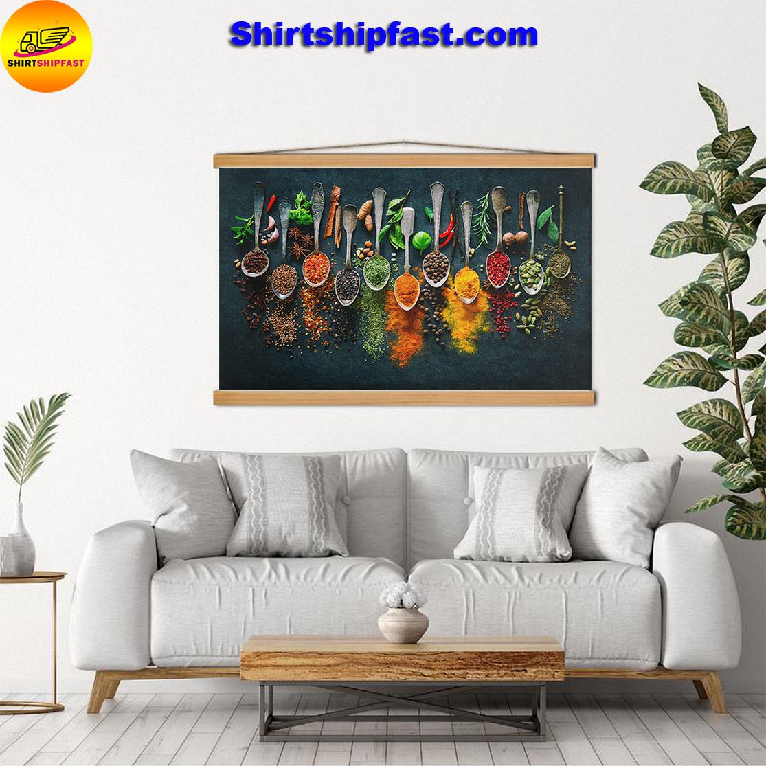 Spices all collectives canvas prints - Picture 3