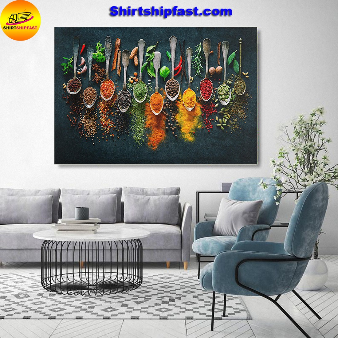 Spices all collectives canvas prints