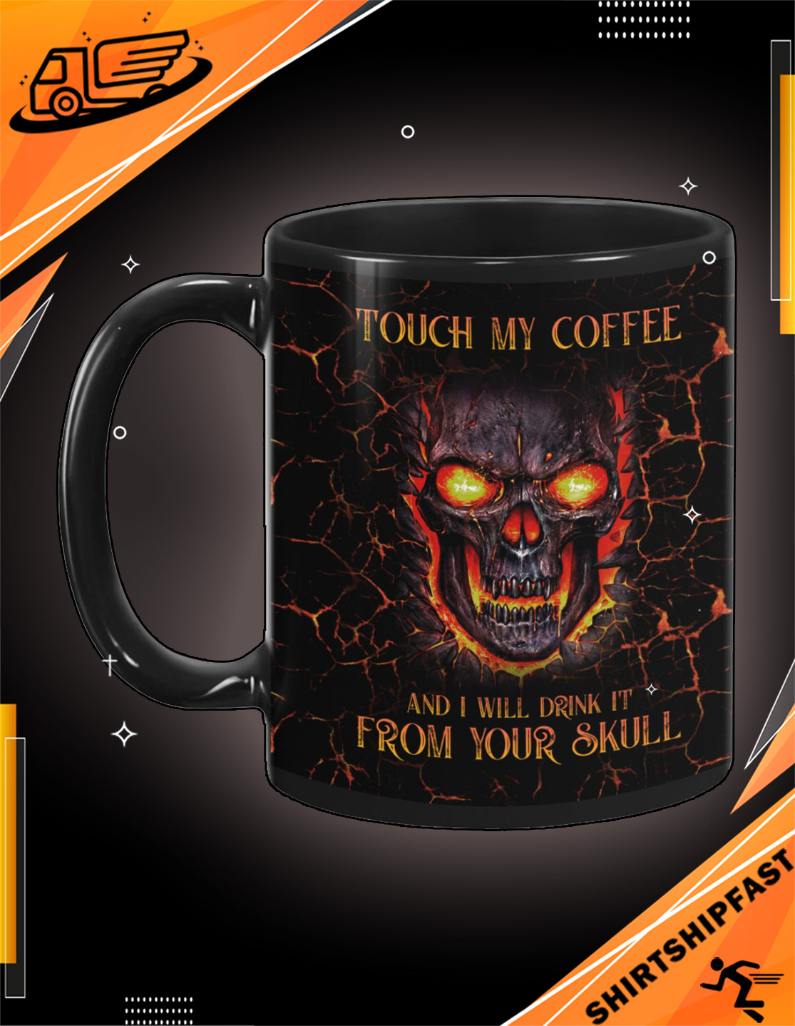 Touch my coffee and I will drink it from your skull mug - Picture 3