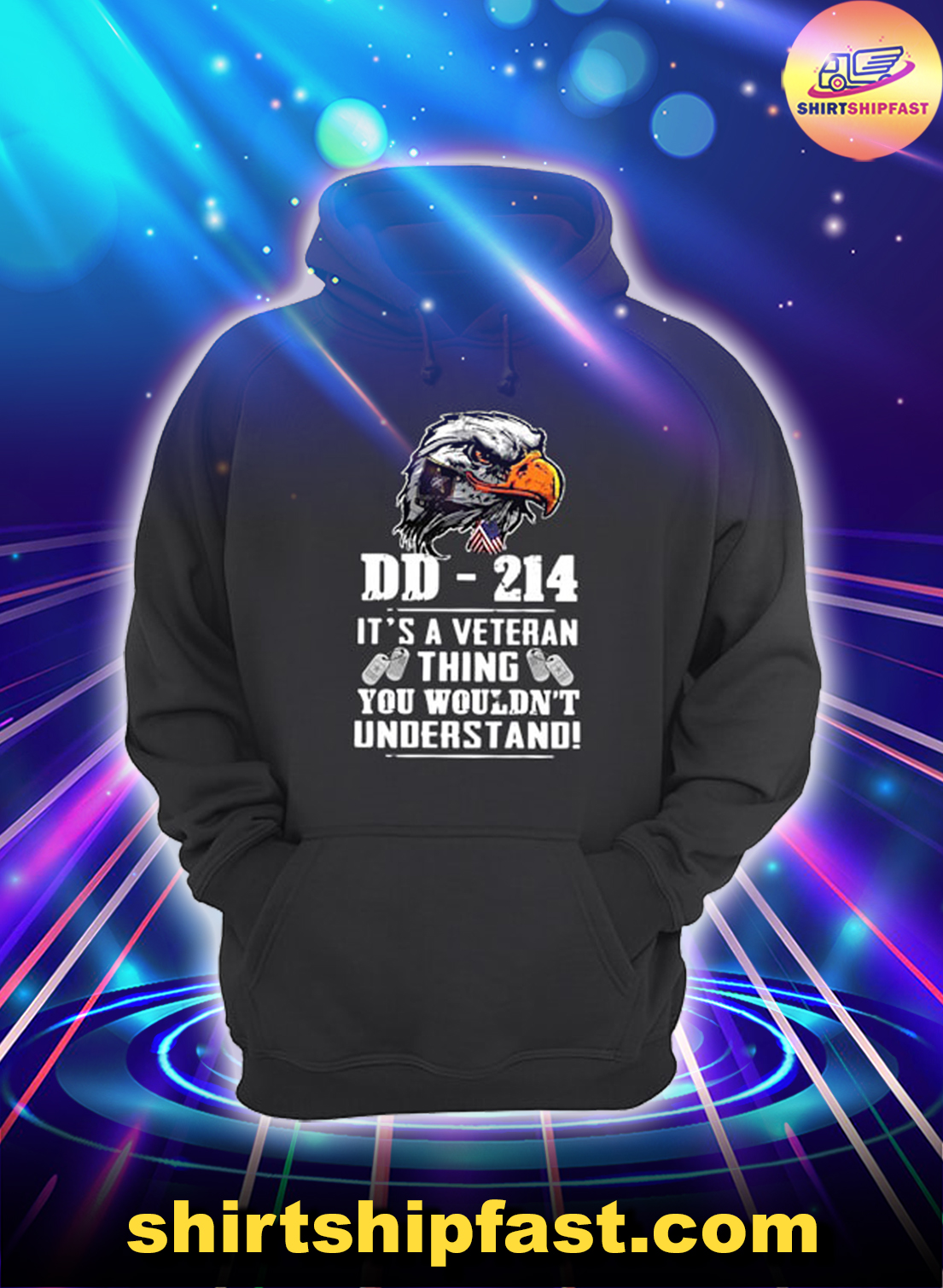 Eagle DD-214 It's a veteran thing you wouldn't understand hoodie