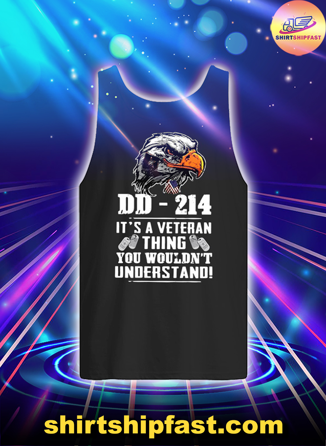 Eagle DD-214 It's a veteran thing you wouldn't understand tank top
