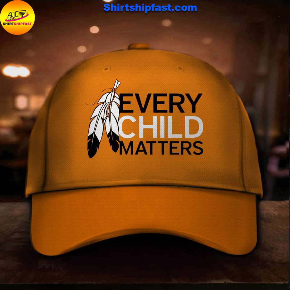 Native American every child matters hat
