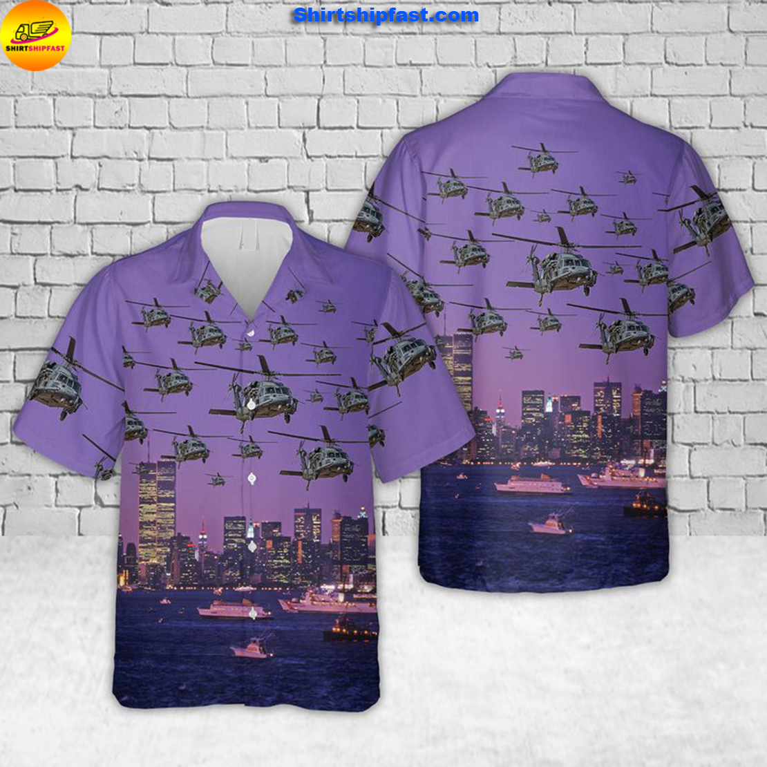 Pave Hawks of the 106th Rescue Wing New York Air National Guard Hawaiian Shirt - Style 2
