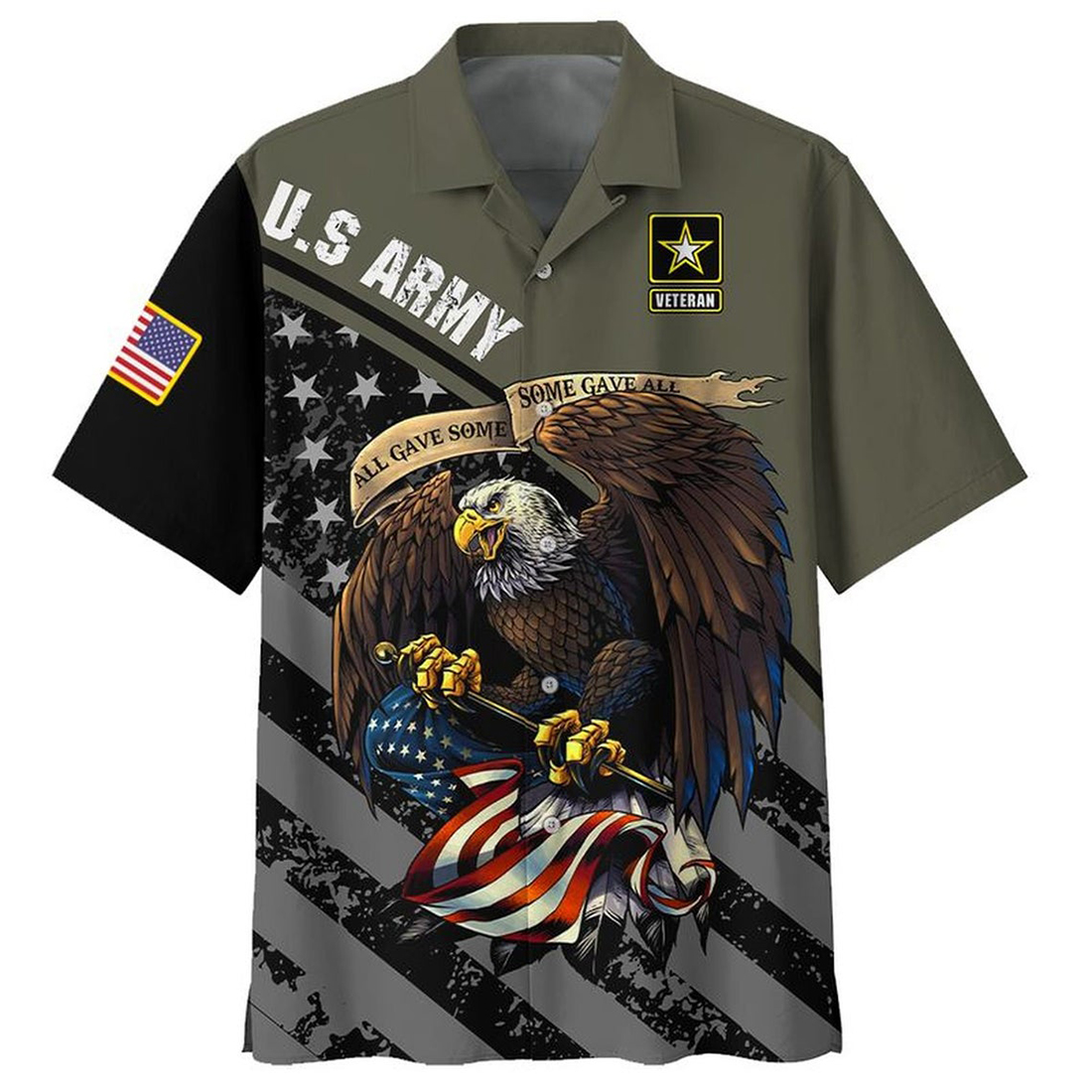 All gave some Some gave all US Army veteran hawaiian shirt