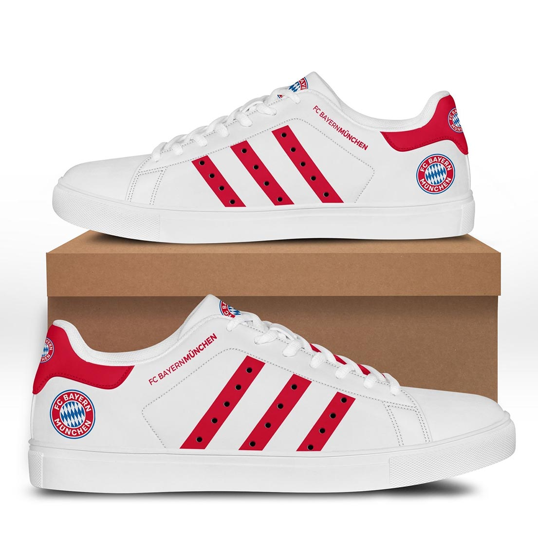 Bayern Munchen stan smith shoes - Picture 1