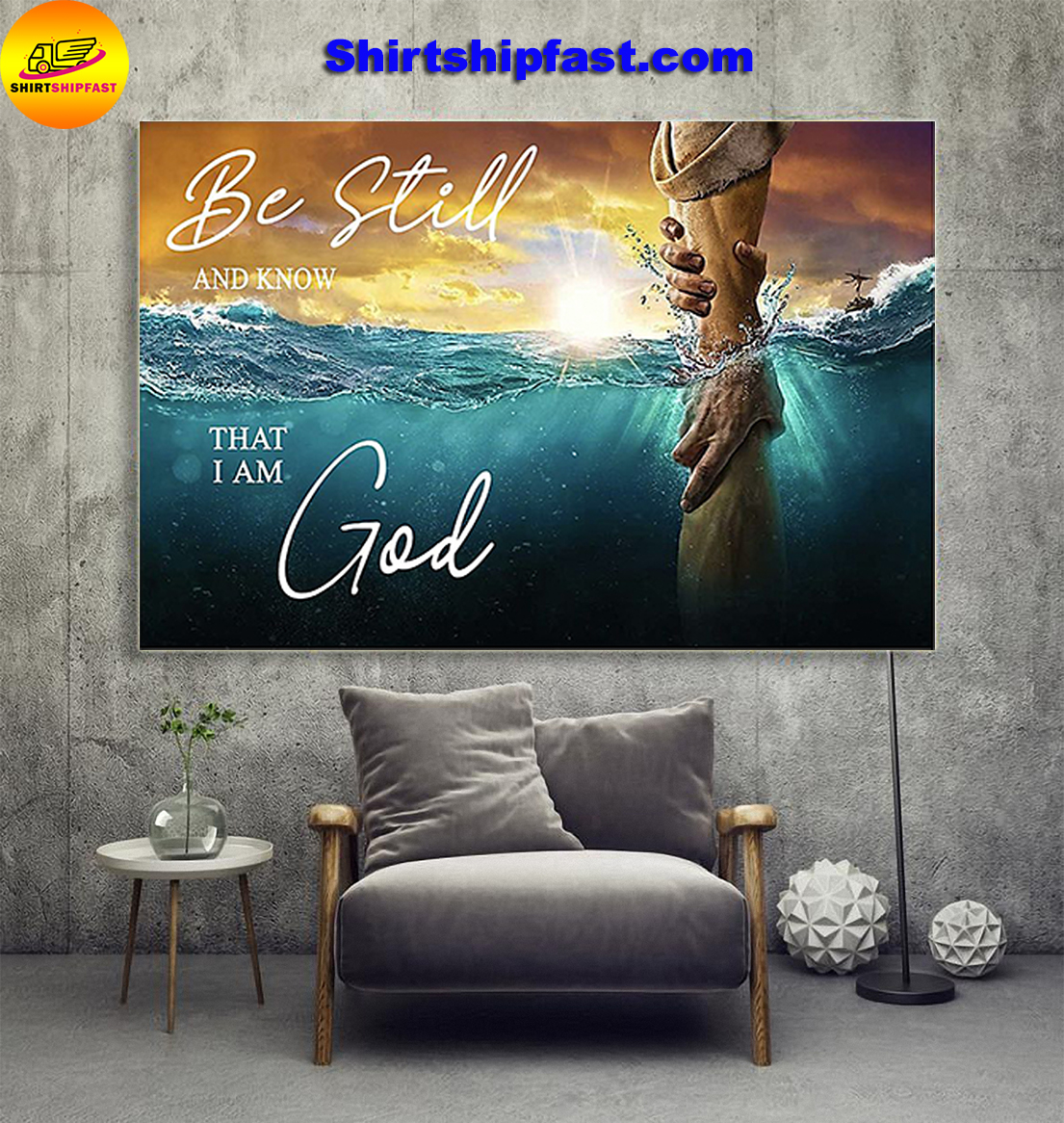 Be still and know that I am God poster - Picture 1