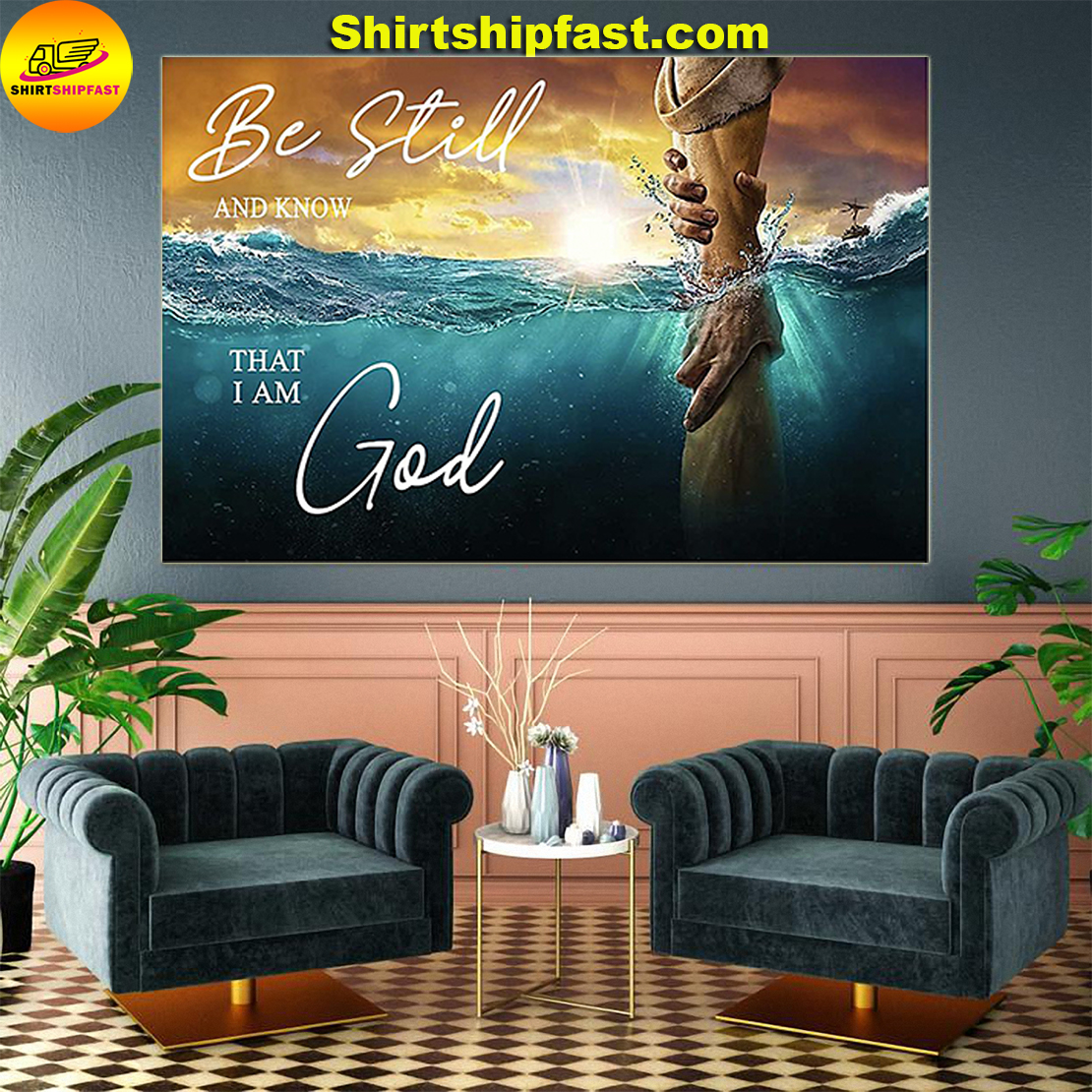 Be still and know that I am God poster - Picture 2