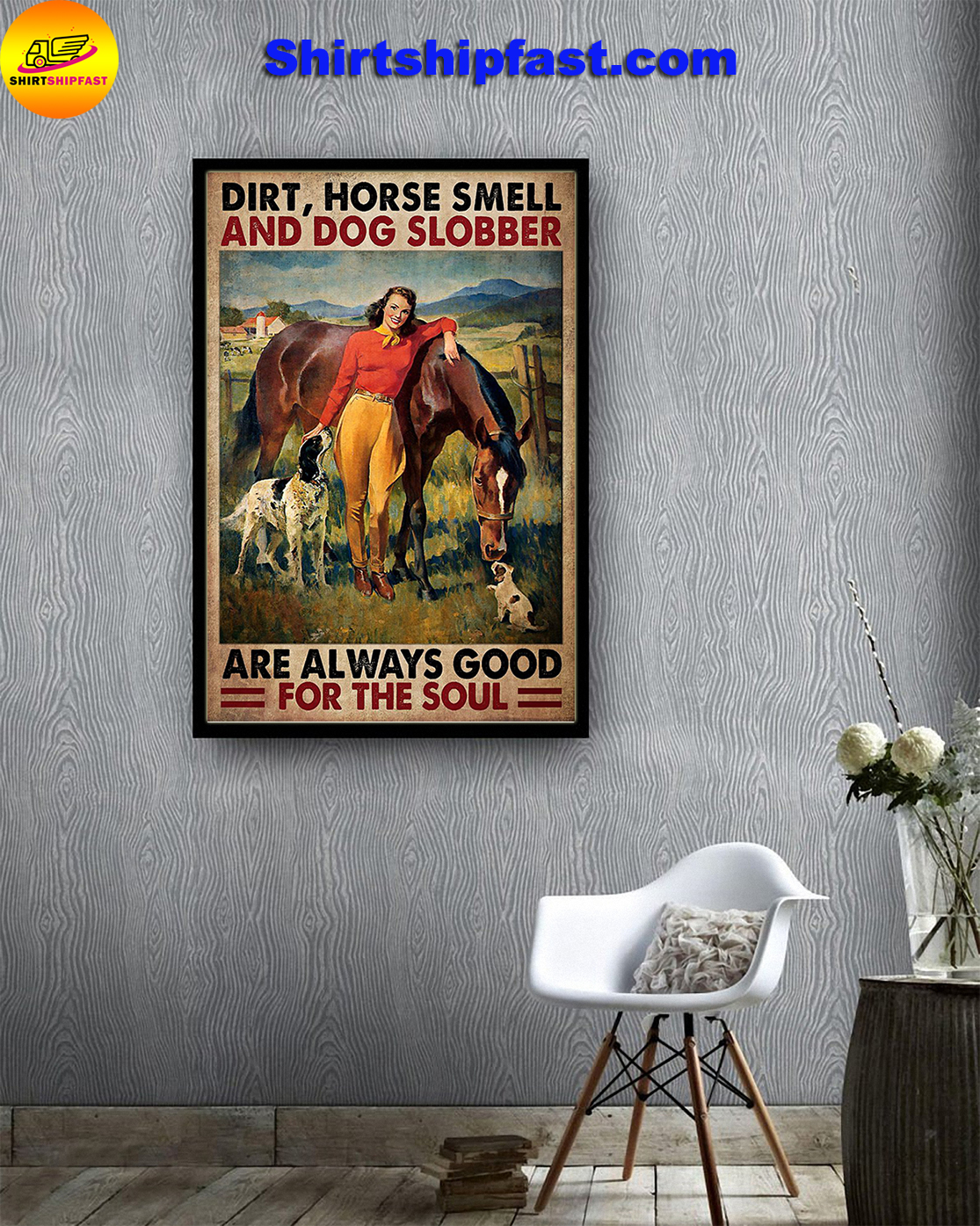 Dirt horse smell and god slobber are always good for the sould poster - Picture 3