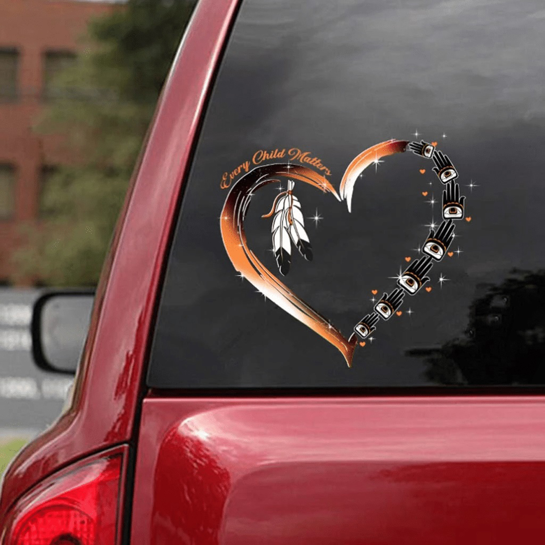Every child matters native american car sticker decal - Picture 3