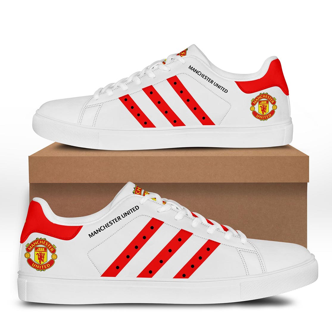 Manchester United stan smith shoes - Picture 3