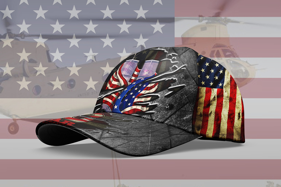 Never Forget September 11th Cap Hat - Picture 1