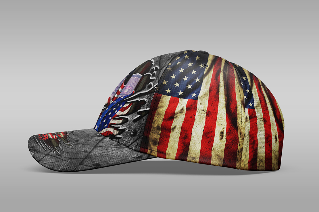Never Forget September 11th Cap Hat - Picture 2
