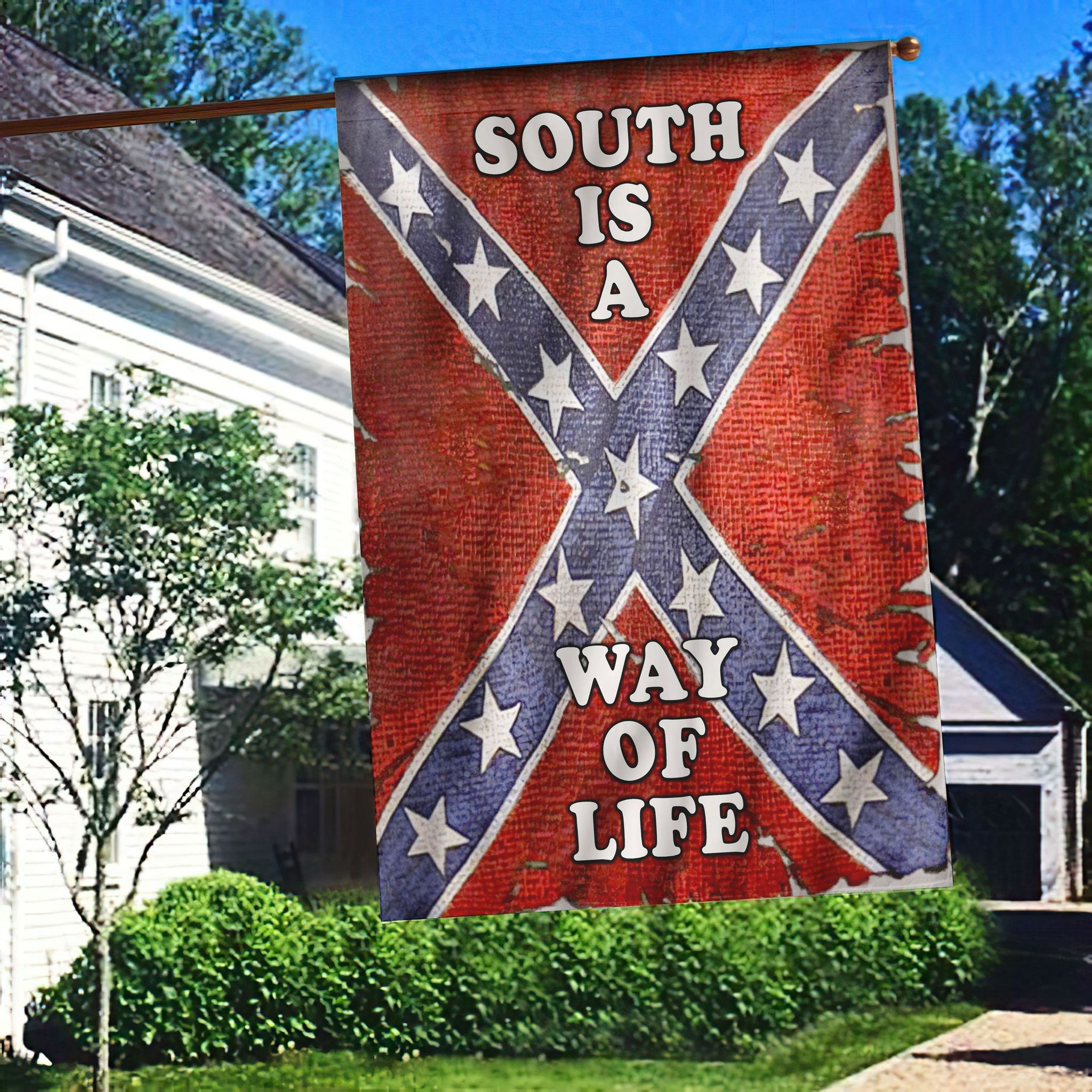 South is a way of life flag - Picture 1