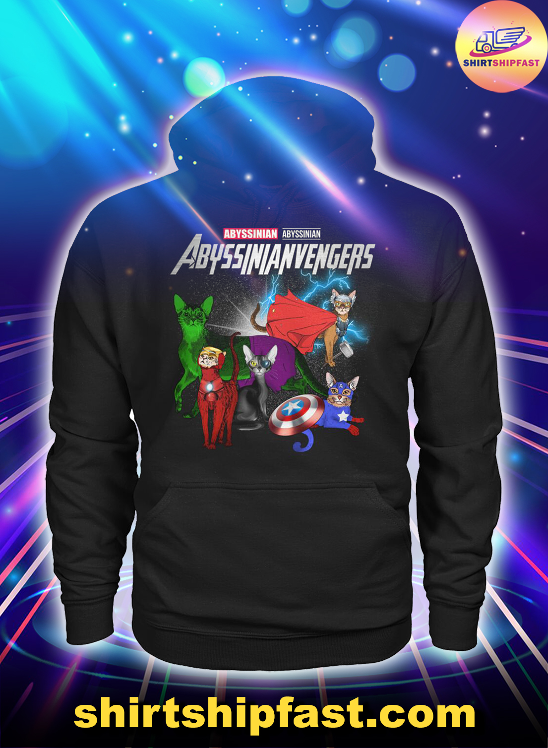 Abyssinianvengers Abyssinian Avengers hoodie