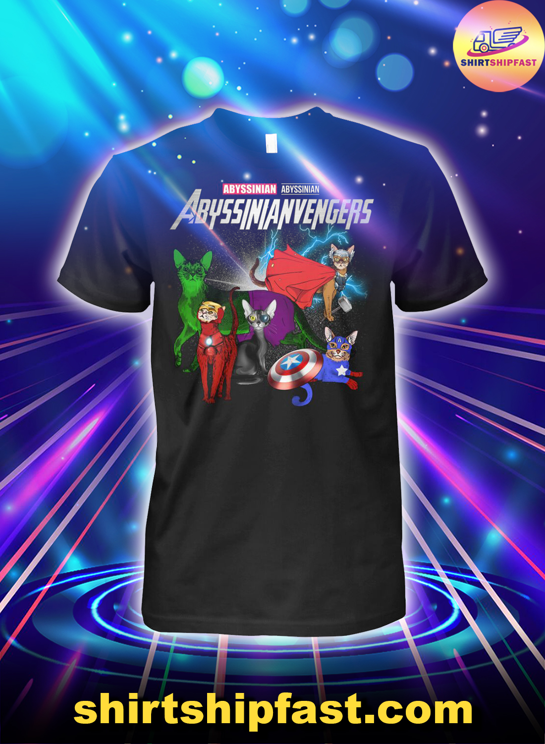 Abyssinianvengers Abyssinian Avengers shirt