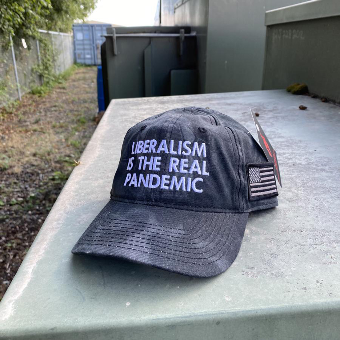 Liberalism is the real pandemic hat cap - Picture 1