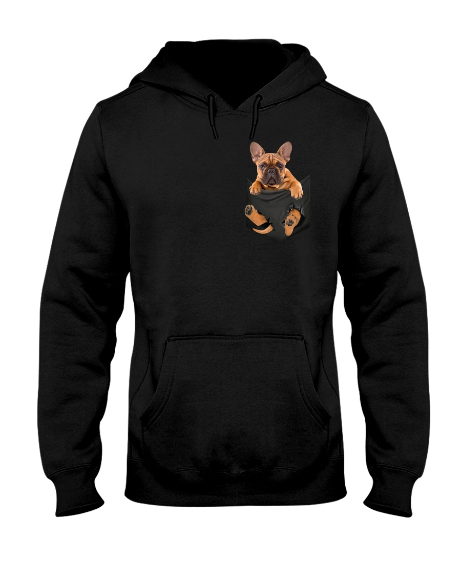 French Bulldog In Pocket Classic hoodie